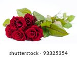 Stock photo red roses 93325354