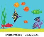 aquarium   Shutterstock .eps vector #93329821