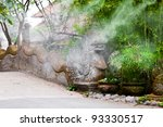 island of the thousand temples | Shutterstock . vector #93330517