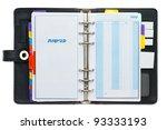 personal black organizer... | Shutterstock . vector #93333193