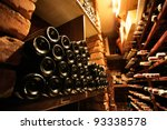Wine Cellar In Small French...