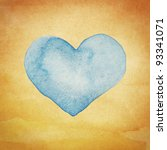 Watercolor Artwork. Love Symbol ...