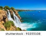 waterfall duden at antalya ...   Shutterstock . vector #93355108