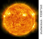 Sun. Global Warming  Collage...