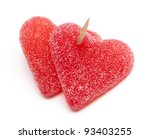Two Heart Shaped Candies...