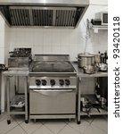 modern kitchen interior   Shutterstock . vector #93420118