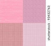 Set Of Four Textile Textures...