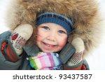 Portrait Of Cute Little Boy In...