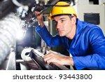 modern industrial machine... | Shutterstock . vector #93443800