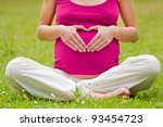 Pregnant Woman Relaxing In The...