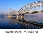 Railroad Bridge Across The...
