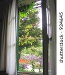 View Through Window Out Onto...