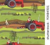 farm background | Shutterstock .eps vector #93484501