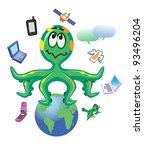 multitasking | Shutterstock . vector #93496204