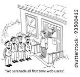 cartoons   Shutterstock . vector #93500413