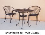 Wrought Iron Table And Chairs...