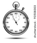 stopwatch | Shutterstock .eps vector #93508303