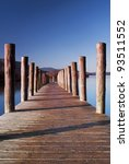 Lodore Landing Stage.  The...