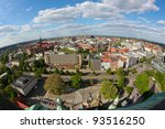 Stock photo view on the center of hannover from the new town hall neues rathaus 93516250