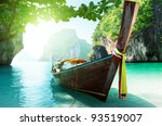 Boat And Islands In Andaman Se...
