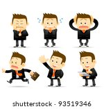 elegant people series  ... | Shutterstock .eps vector #93519346