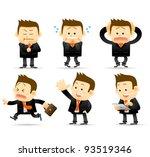 elegant people series  ... | Shutterstock .eps vector #93519346