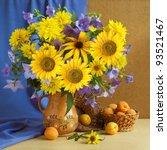 Huge Bunch Of Summer Flowers ...
