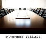 conference table and chairs in... | Shutterstock . vector #93521638