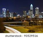 Skyline Of Uptown Charlotte ...