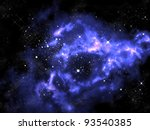 Horse Shape Orion In Universe