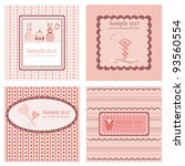 greetings cards | Shutterstock .eps vector #93560554