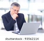 portrait of confident business... | Shutterstock . vector #93562114