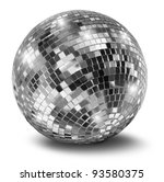 Silver Disco Mirror Ball...