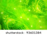 abstract green technology... | Shutterstock . vector #93601384