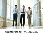 confident business partners... | Shutterstock . vector #93603286