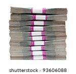 Million Rubles   Stack Of Bill...