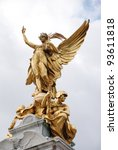 london   victory statue by... | Shutterstock . vector #93611818
