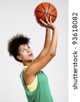 Beautiful Athletic Woman With...