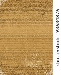 vintage background of a4 format ...   Shutterstock .eps vector #93634876