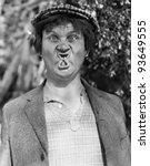 funny face | Shutterstock . vector #93649555
