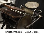 an old letterpress in good... | Shutterstock . vector #93650101