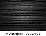 black iron speaker grid texture.... | Shutterstock . vector #93687931