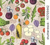 salad background | Shutterstock .eps vector #93705442