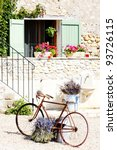 bicycle  provence  france | Shutterstock . vector #93726115