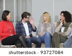 team building  group discussion ... | Shutterstock . vector #93727084