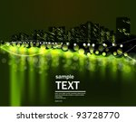 the vector image of a night...   Shutterstock .eps vector #93728770