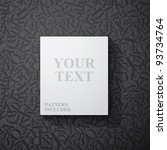 blank frame for your text ... | Shutterstock .eps vector #93734764