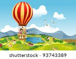 a vector illustration of two...   Shutterstock .eps vector #93743389