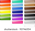 colored shiny buttons | Shutterstock . vector #93746554