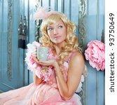 Blond Fashion Princess Woman...